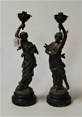Lot 31-After Moreau, a pair of late 19th century...