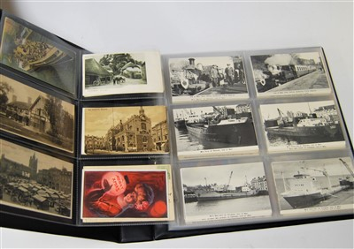 Lot 34-An album of early 20th century and later...