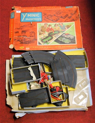 Lot 60-A boxed Triang Minic Motorways M1522 racing set