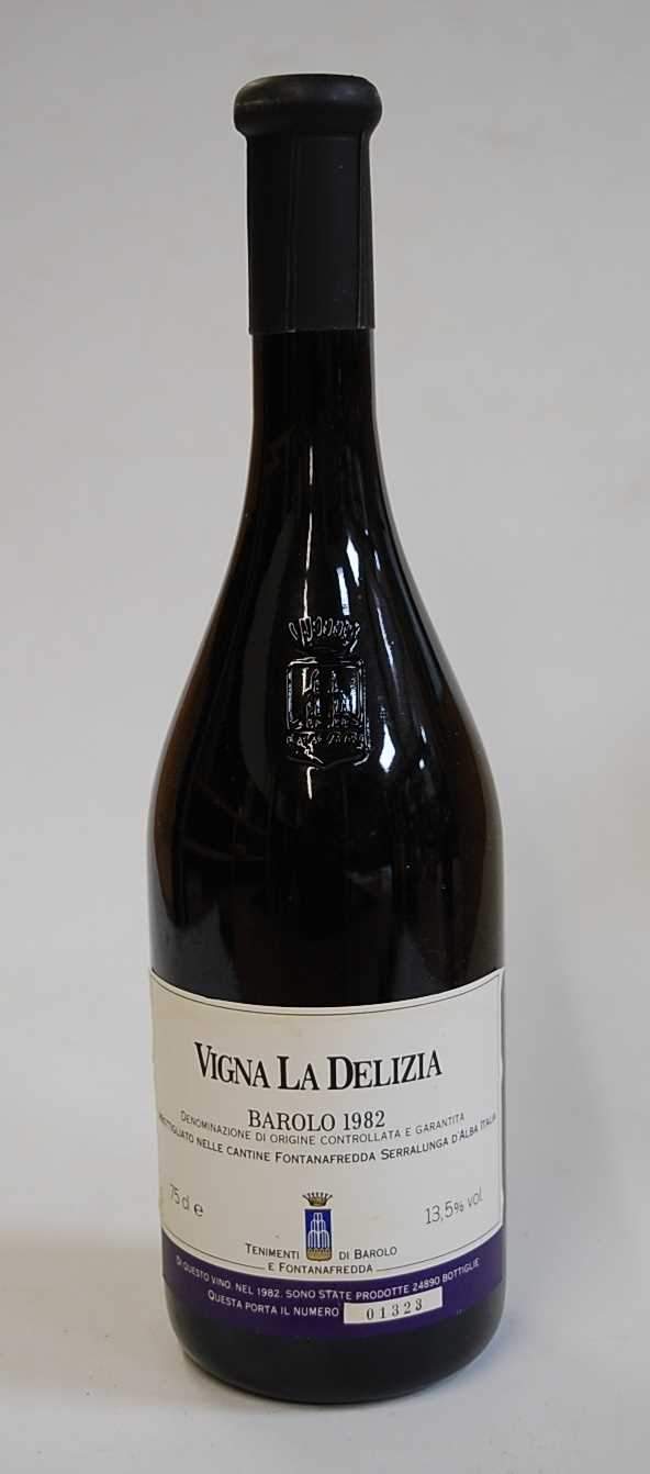 Lot 1002-Vigna la Delizia, 1982, Barolo, four bottles...