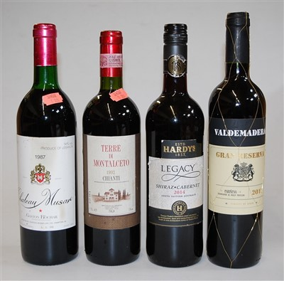 Lot 1003-Château Musare, 1987, Lebanon, one bottle; Terre...