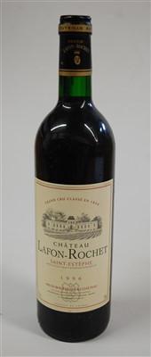 Lot 1006-Château Lafon-Rochet, 1996, St Estephe, twelve...