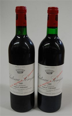 Lot 1008-Château Senejac, 1981, Haut-Medoc, two bottles