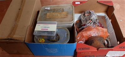 Lot 34-A collection of various live steam spares and...