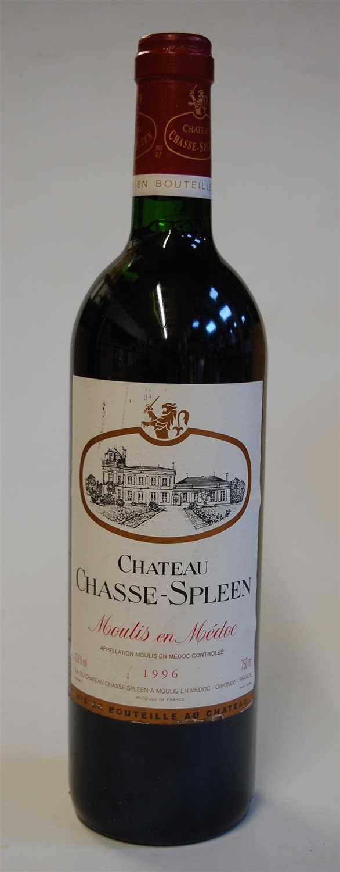 Lot 1025-Château Chasse-Spleen, 1996, Moulis en Medoc,...