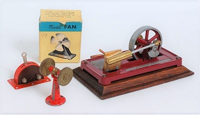 Lot 38-A collection of various live steam engines and...