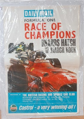 Lot 48-A Daily Mail Formula One Race of Champions Brands ...