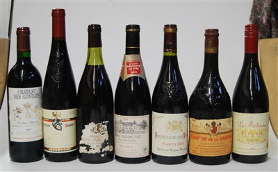 Lot 1036-Assorted red wines, to include Château Sissan...