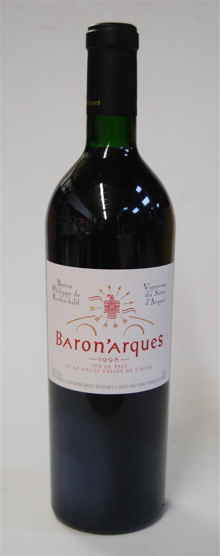 Lot 1037-Domaine de Baron'Arques, 1998, Van de Pays,...