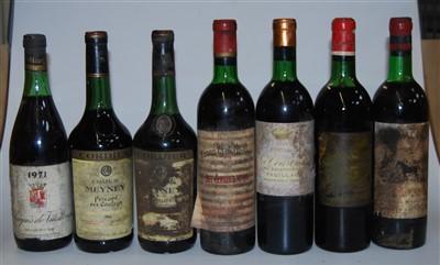 Lot 1042-Château Meyney, 1966, Cordier, two bottles;...