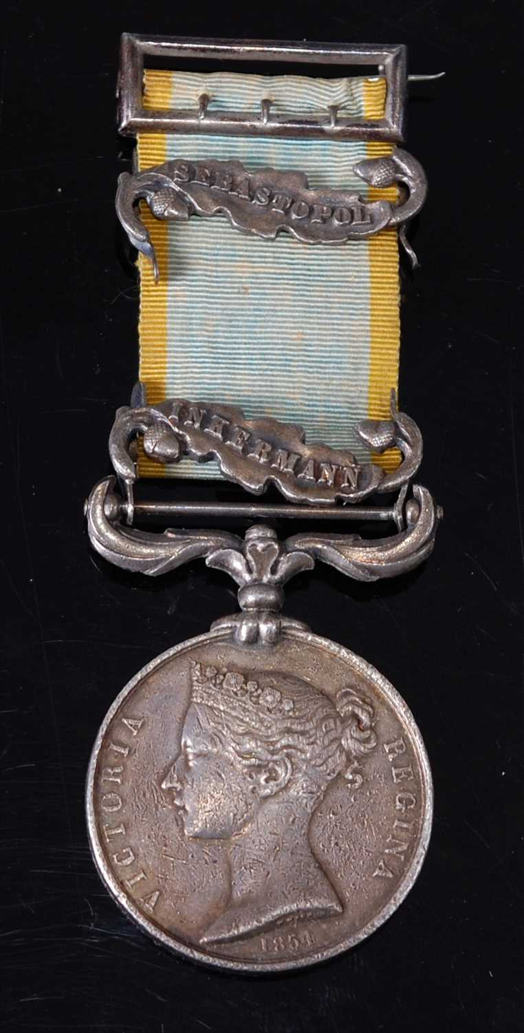 Lot 7-A Crimea medal (1854-56)