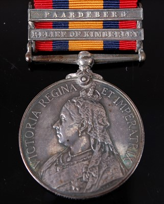 Lot 9-A Queen's South Africa medal (1899-1902)