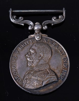 Lot 10-A George V Army long Service and Good Conduct medal