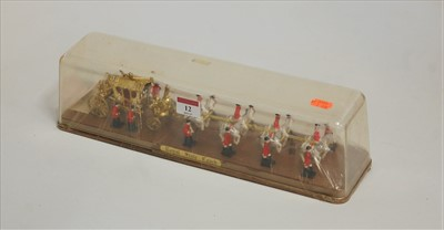 Lot 12-A Crescent Toys boxed model of the Royal State...