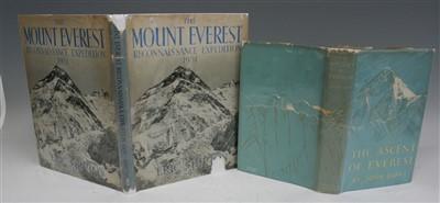 Lot 2005-SHIPTON Eric, The Mount Everest Reconnaissance...