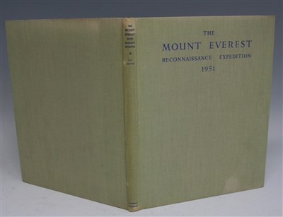 Lot 2005-SHIPTON Eric, The Mount Everest Reconnaissance...