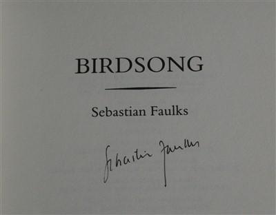 Lot 2010-FAULKS, Sebastian, Birdsong. Hutchinson, London,...