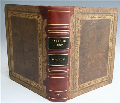 Lot 2012-MILTON, John. Paradise Lost, a Poem in Twelve...