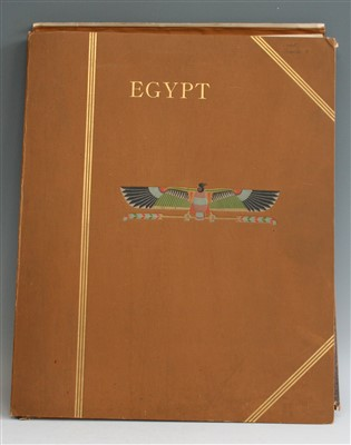 Lot 2014-JUNGHAENDEL, J.M. Egypt. Heliogravures After...