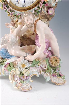 Lot 2024-A 19th century Meissen porcelain 'Prometheus'...