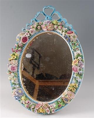 Lot 2026-A 19th century Meissen porcelain easel dressing...