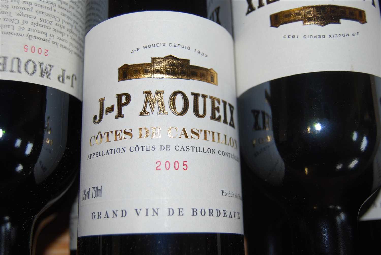 Lot 1044-Jean-Pierre Moueix, 2005, Côtes de Castillon,...