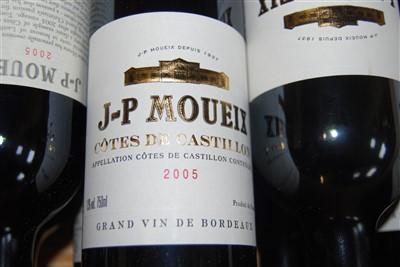Lot 1045-Jean-Pierre Moueix, 2005, Côtes de Castillon,...
