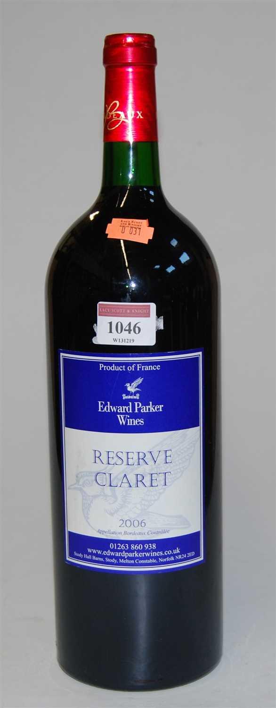 Lot 1046-Edward Parker Wines, 2006, reserve claret,...