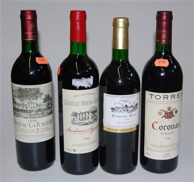 Lot 1047-Château la Tuiliere, 1996, Côtes de Bourg,...