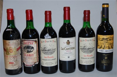 Lot 1048-Assorted red wines, largely being vintage...