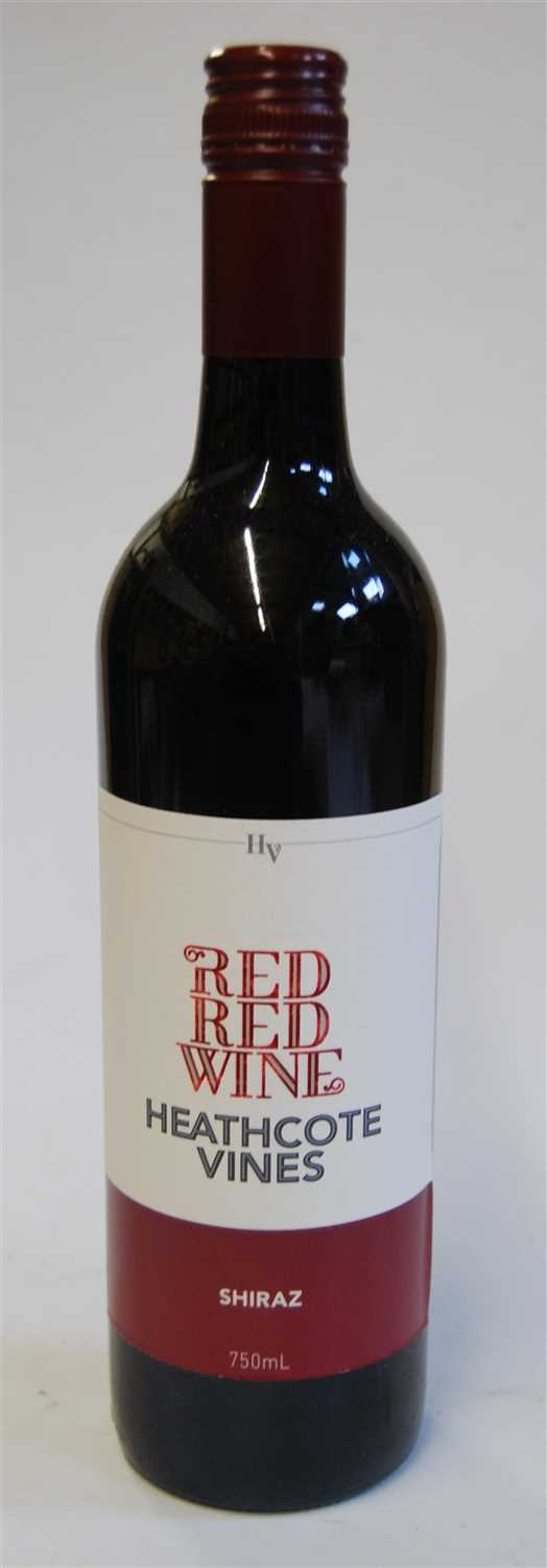 Lot 1049-Heathcote Vines Red Red Wine, non-vintage...