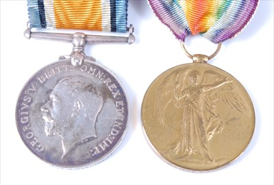 Lot 2-A family group of medals to include
