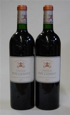 Lot 1050-Château Pape Clement, 2004, Pessac-Léognan,...