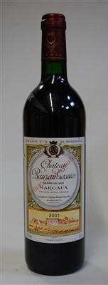 Lot 1051-Château Rauzan Gassies, 2001, Margaux, one bottle