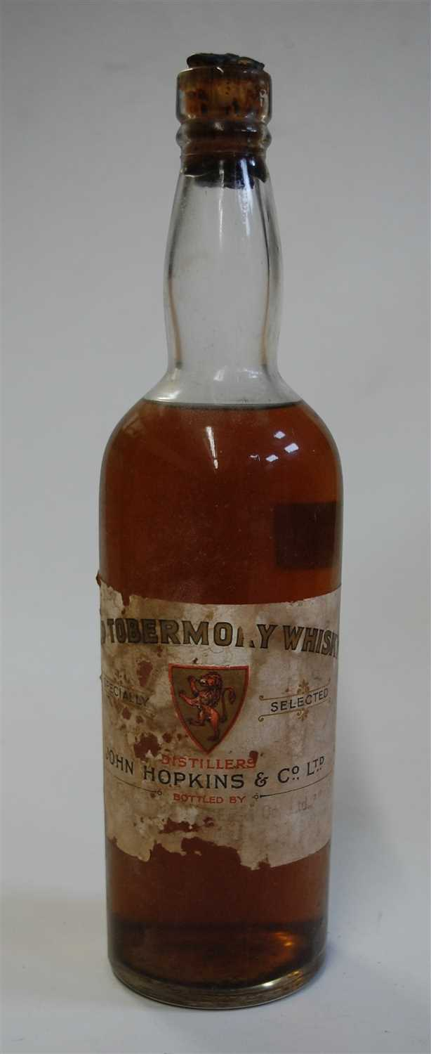 Lot 1342-Old Tobermory, whisky, bottled by John Hopkins &...
