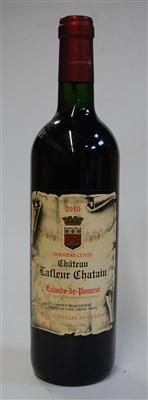 Lot 1059-Château Lafleur Chatain, 2010, Lalande de...