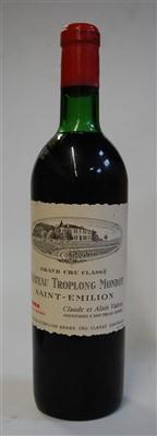 Lot 1063-Château Troplong Mondot, 1964, Saint Emilion,...