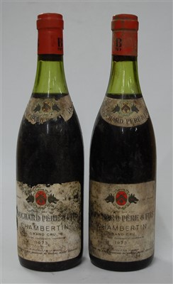 Lot 1067-The following red wines from Bouchard Pére et...
