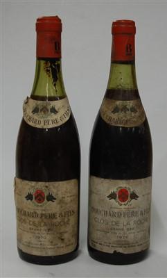 Lot 1068-Clos de la Roche Grand Cru, 1970, Bouchard...