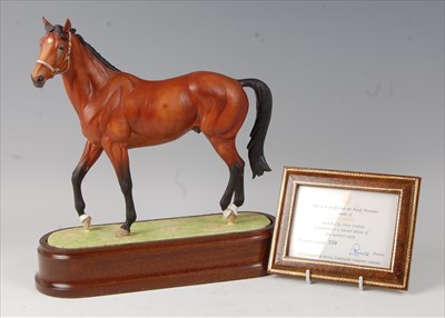 Lot 2040-A Royal Worcester model of Nijinsky, modelled by...