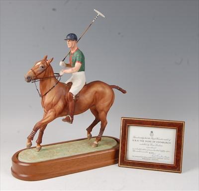 Lot 2039-A Royal Worcester model of HRH The Duke of...