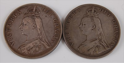 Lot 5-Great Britain, 1887 double florin