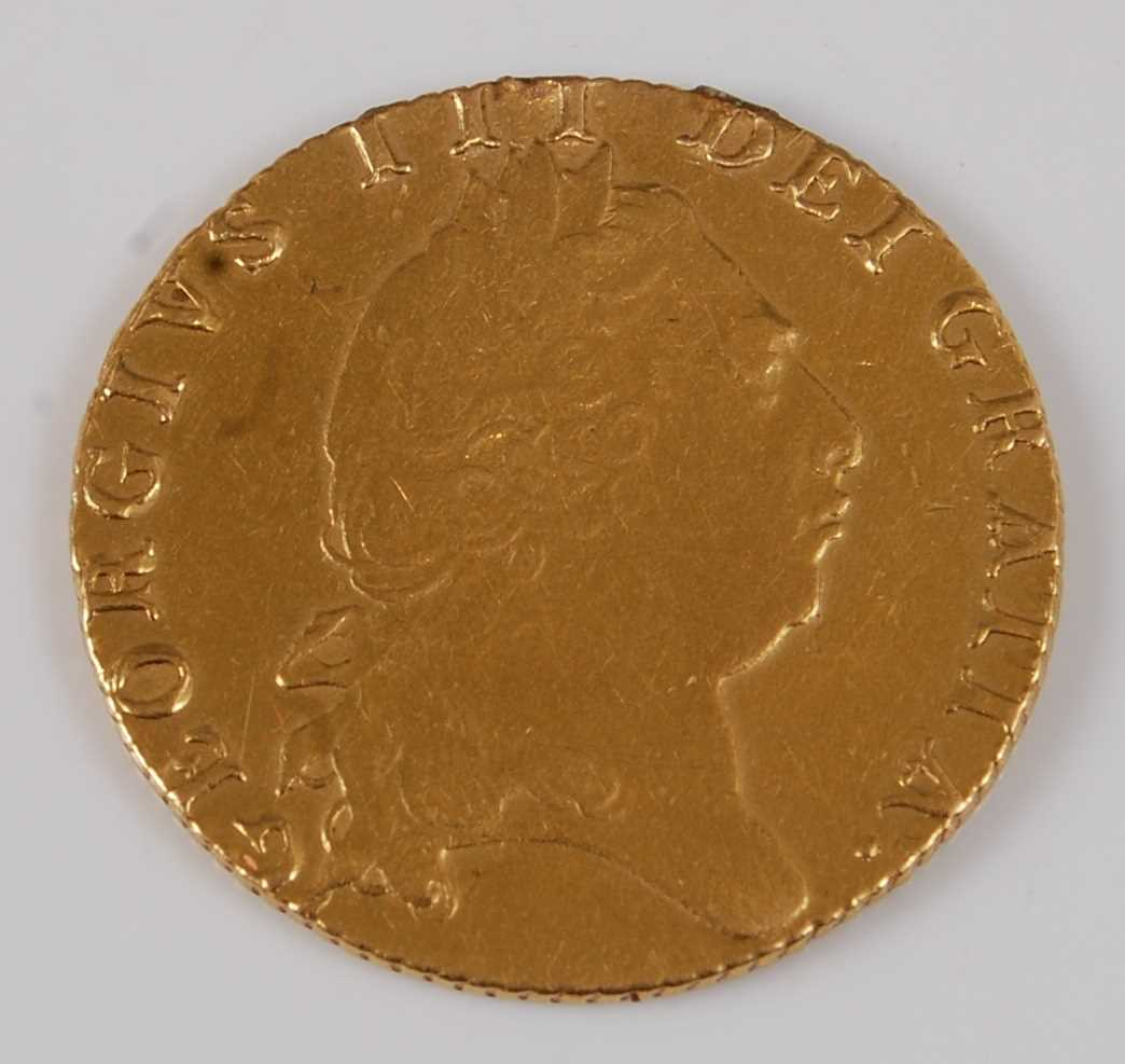Lot 6-Great Britain, 1798 gold full guinea