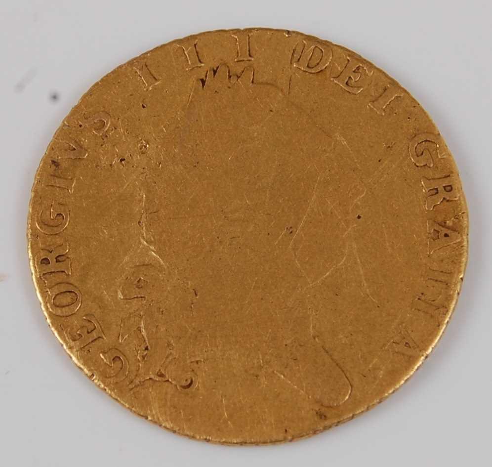 Lot 7-Great Britain, 1789 gold half guinea