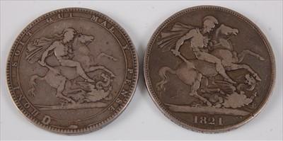 Lot 9-Great Britain, 1819 crown