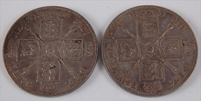 Lot 10-Great Britain, 1889 double florin