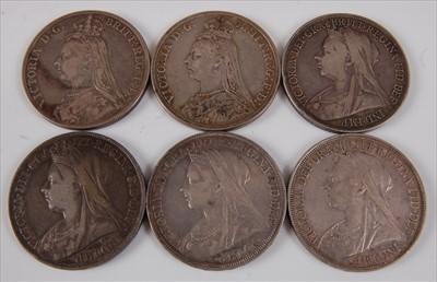 Lot 11-Great Britain, 1887 crown