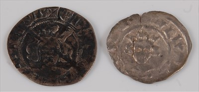 Lot 28-England, Edward III (1327-1377), silver penny