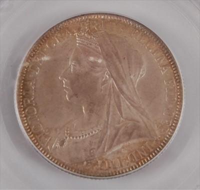 Lot 34-Great Britain, 1893 florin