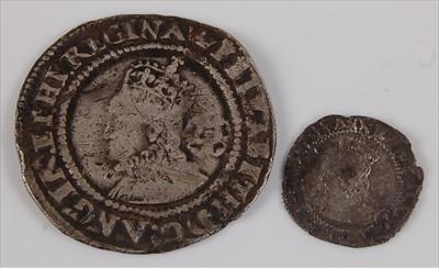 Lot 48-England, 1568 sixpence, Elizabeth I